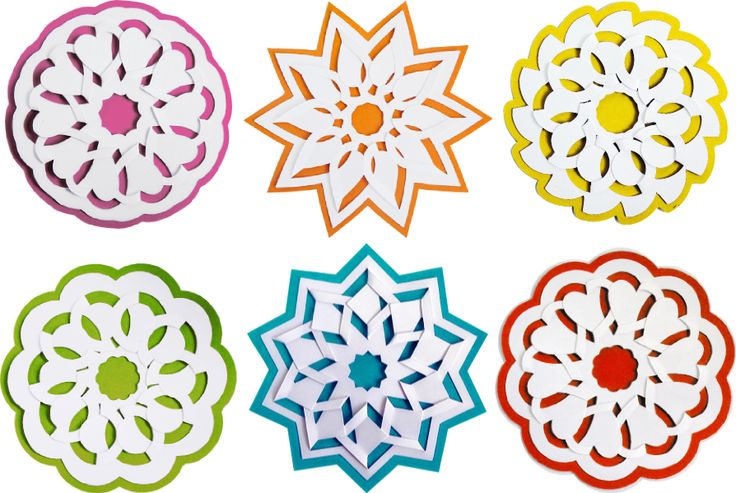 Fold and Tuck flowers - SVG cutting files by Alaa Studio