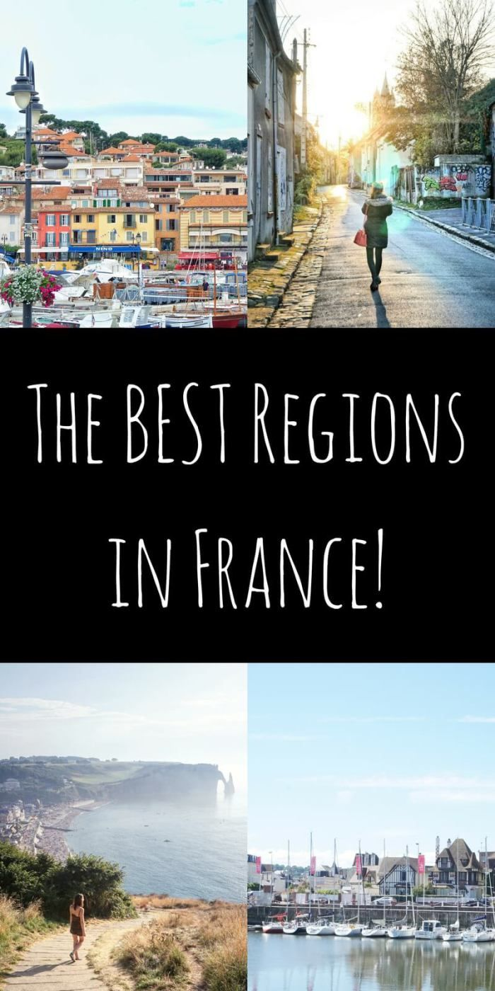 Let me ask you a question: what are your favourite French destinations? What's the first place that pops into your head when you think of France?