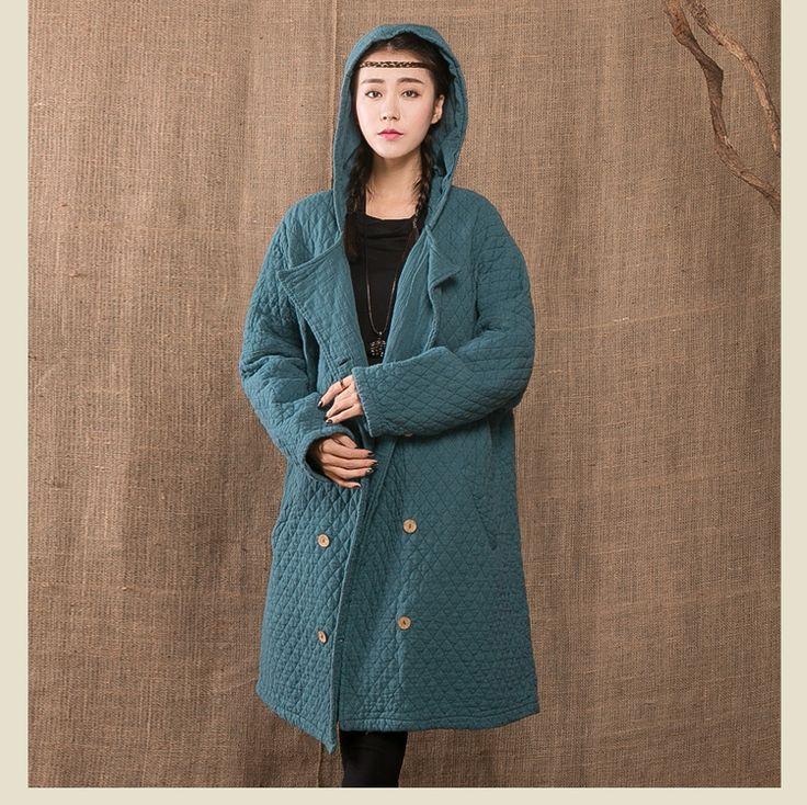 Купить Новая зимняя хлопок белье утолщенной капюшоном тренчи сплошные цвета большой размер верхняя одежда и пальто женская одежда 85361и другие товары категории Тренчив магазине NINI'S CLUBнаAliExpress. 85361