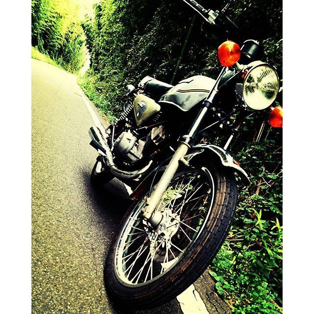 【katuo.circus】さんのInstagramの写真をピンしています。《朝ソロツーリング💨 とても乗りやすい季節🍂 いろんなところに行きたいね😆  #solotouring#bike#motorcycle#kawasaki#kh90 #90cc#国産旧車#川崎重工業#バイク#ツーリング #ソロツーリング#秋#田舎#田舎道#林道#林#自然 #holiday#休日#0915#yesterday#休日ライダー #バイク仲間募集》