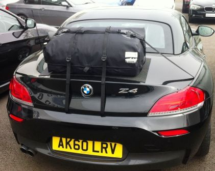 Boot-bag for BMW E89 Z4 much better than a luggage rack and no paint damage !