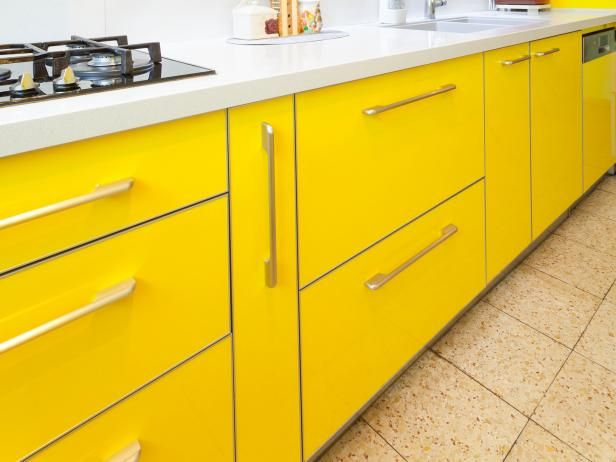 Brighten Your Mornings And Add Color And Life To Your Kitchen Design With Yellow Kitchen Cabinets