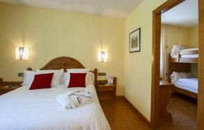 Charming bedrooms Sant Gothard Hotel