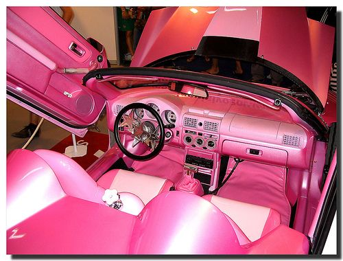 17 best images about girly cars on pinterest steering wheels pink bmw and car accessories. Black Bedroom Furniture Sets. Home Design Ideas