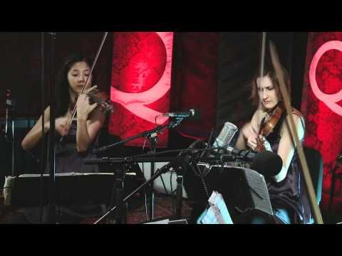Toronto's Cecilia String Quartet were in studio performing songs from their repertoire including this one, 'String Quartet Op. 106, 3rd Movement' composed by Dvořák. Musique classique / Classical Music Production Analekta