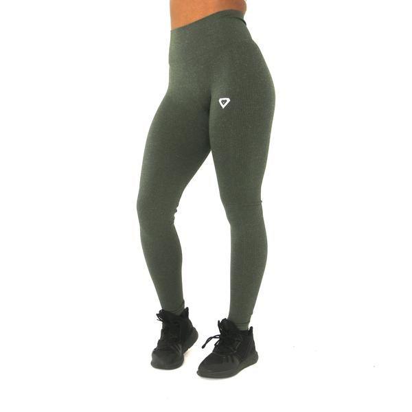 4c8e5e321cb88 Amenity Leggings - Khaki | Hard Body | Leggings, Workout leggings ...