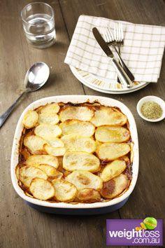 Healthy Lamb Recipes: Greek Lamb Hot Pot. #HealthyRecipes #DietRecipes #WeightlossRecipes weightloss.com.au