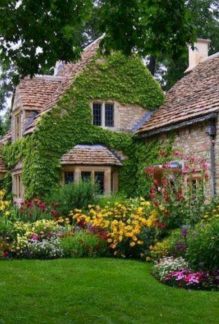 25 Fresh Cottage Garden Ideas for Front Yard and Backyard Inspiration