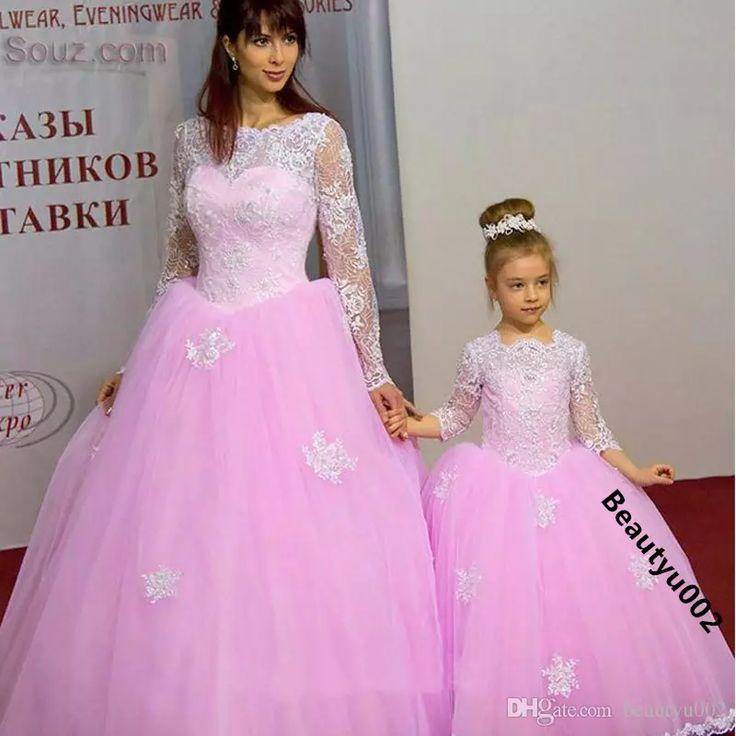 Mejores 75 imágenes de Flower Girls Dresses&Girls Pageant Dresses en ...