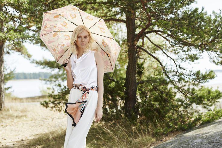SS16 #marjakurki #silk #scarf #FinnishDesign