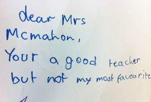 Kids: So Honest It Hurts. Hilarious Notes That Will Have You Laughing Out Loud (GALLERY)