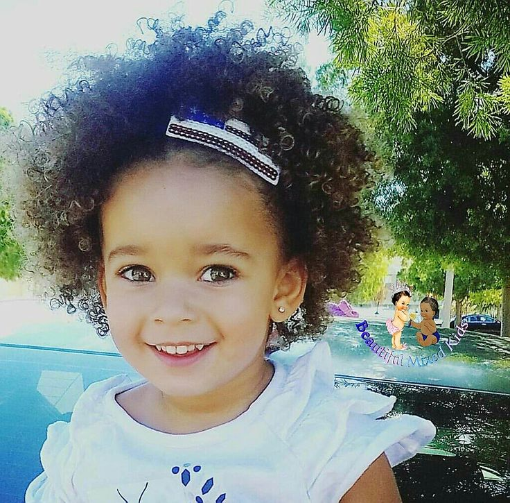 Kali Ann - 3 Years • Mom: Caucasian • Dad: African American ❤