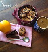 Μπισκότα με κινόα, σταφίδες, καρύδα,  σοκολάτα και άρωμα πορτοκάλι
