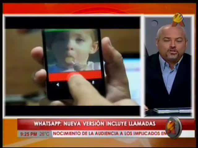 Nueva Versión De WhatsApp Incluye Llamadas #Video