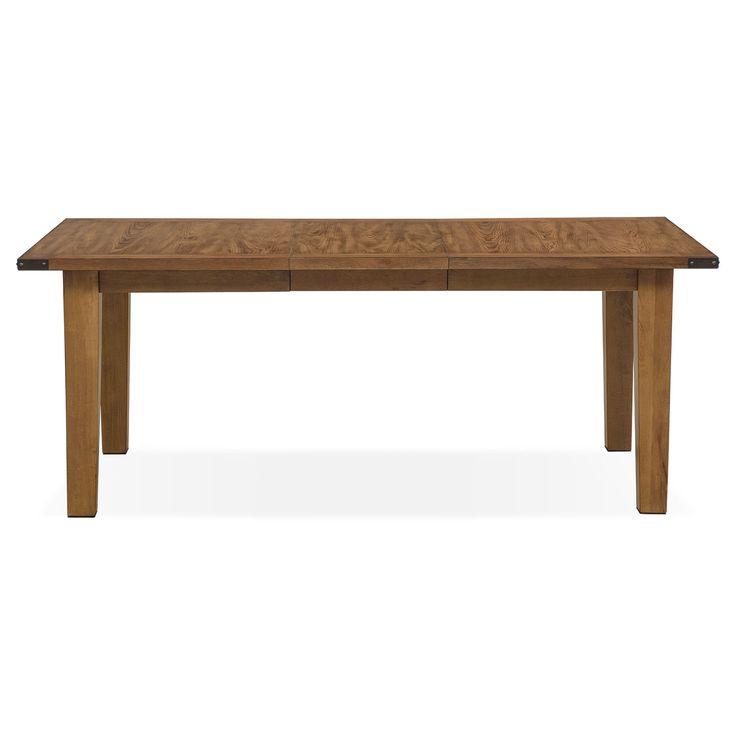 Salem Dining Table - Pecan   American Signature Furniture