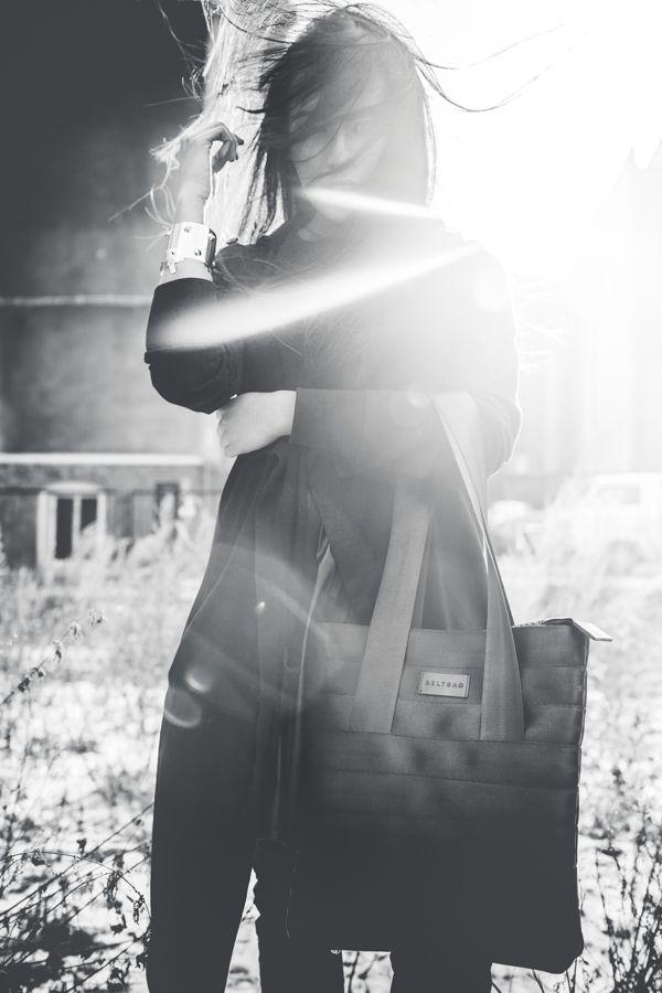 Upcycled seat belt bag // Shopper S   for more visit: www.beltbag.pl