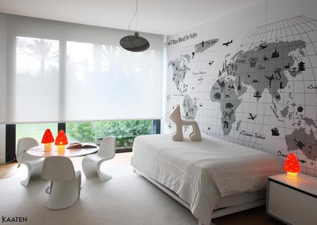 Estores y cortinas en la decoraci n escandinava estilo - Decoracion cortinas y estores ...