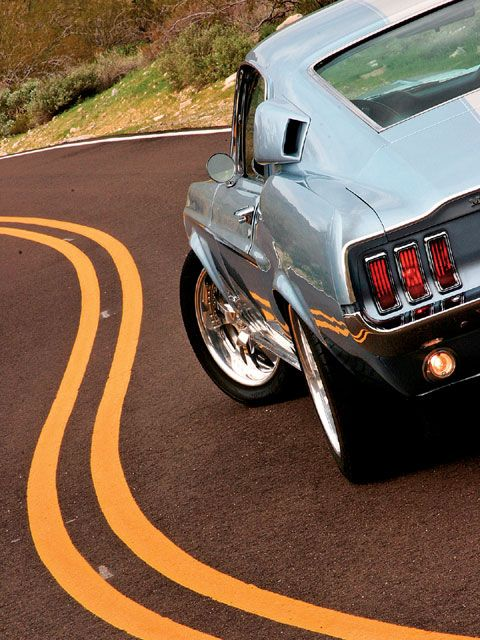 [1967 Ford Mustang Fastback] ... This photo is excellent - the car is beyond measure