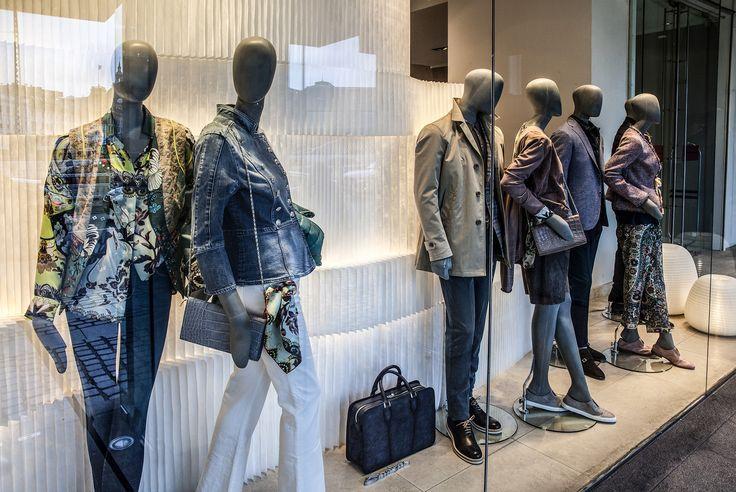softproducts from @molostudio at Bindesbøl in Copenhagen shop decor, interior design, window display, butiks indretning, vindues display