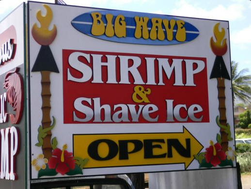 BIG WAVE SHRIMP TRUCK Guy Fieri