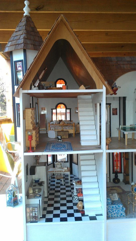 Super 7 best Duracraft Queen Anne dollhouse images on Pinterest | Queen  NU98