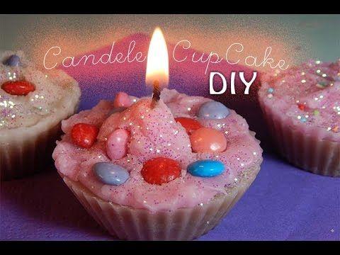 Candele cupcake, FAI DA TE - YouTube