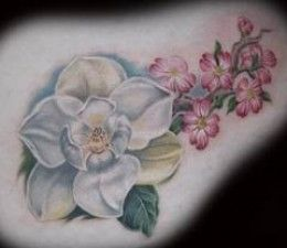 Dogwood Flower Tattoos And Designs-Dogwood Flower Tattoo Meanings And Ideas