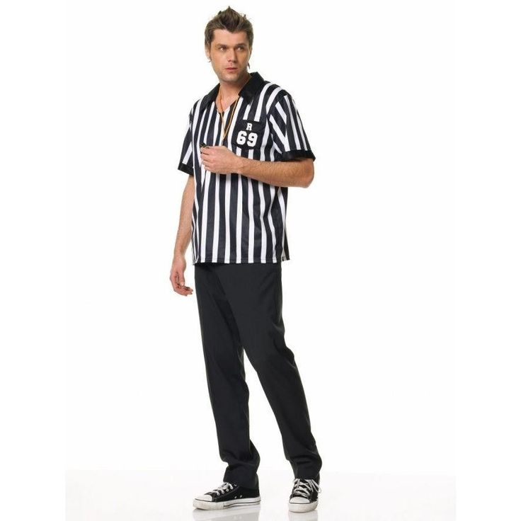 Referee Shirt Mens Md/lg