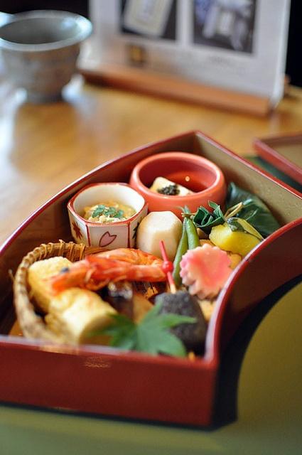 京懐石弁当、和食