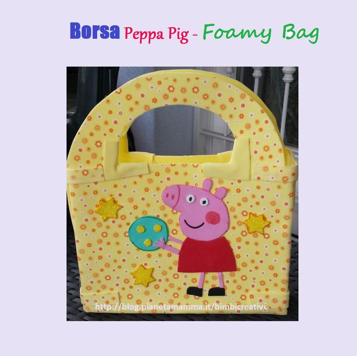 Borsa con Peppa Pig - Peppa Pig Foamy Bag DIY