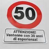 50 anni - 50 auguri - buon compleanno