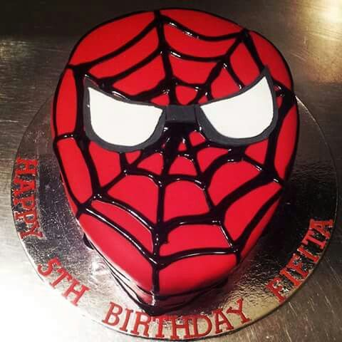 Watch out, spidermans here!!! 5th borthday chocolate spiderman cake.   Check us out at www.facebook.com/totaleventplanning