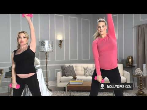 tracy anderson- teaching great pregnancy workouts to keep your body in shape and bounce back to normal after giving birth!