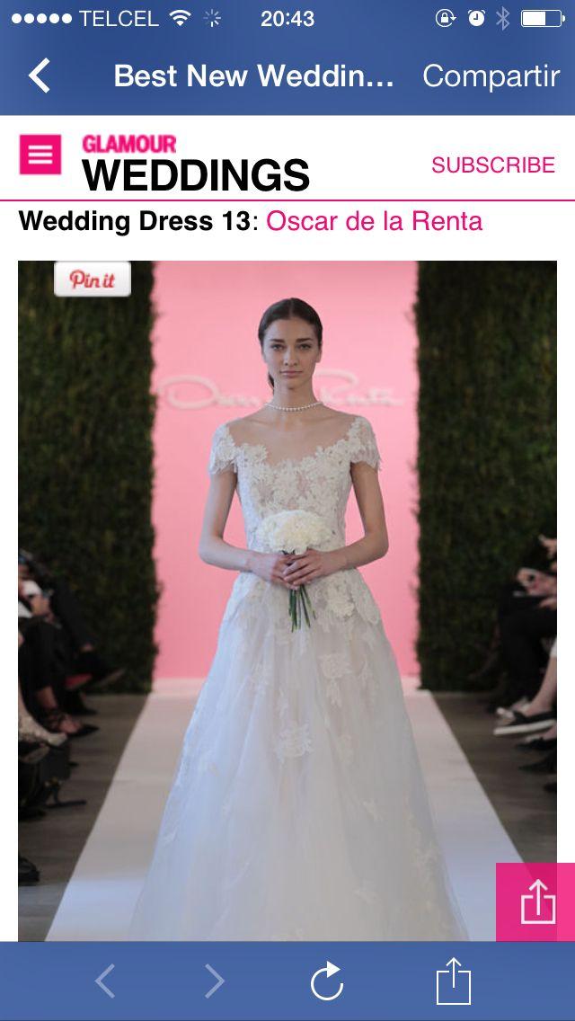 Mejores 39 imágenes de Wedding Dress en Pinterest | Vestidos de ...