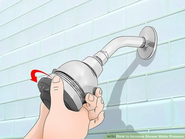 How To Increase Shower Water Pressure In 2020 Pressure Shower