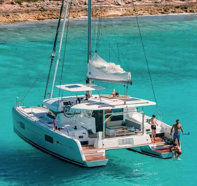 The secret beaches of the Ionian revealed with Fantasia Sailing San  Giorgio