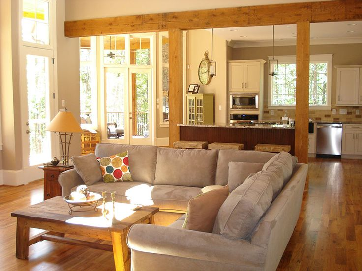 Choosing the perfect interior wood: Featuring the Great room of the Cedar Court Plan 5004