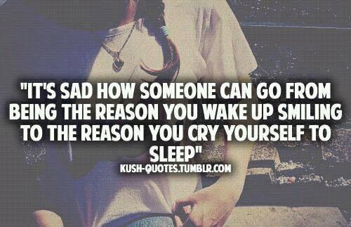 Love Quote Tumblr Depressed Sad Quotes No Sleep You Need: Crying Yourself To Sleep Quotes. QuotesGram