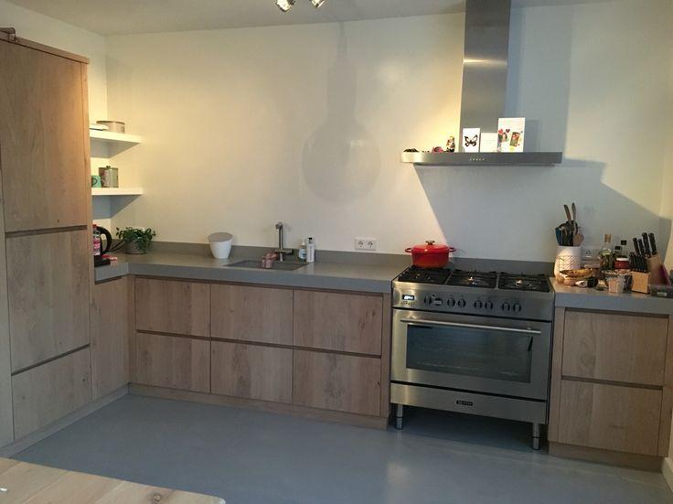 Keuken Rvs Wandpanelen : Rvs wandpaneel keuken: keuken matzwart met rvs werkblad pdi