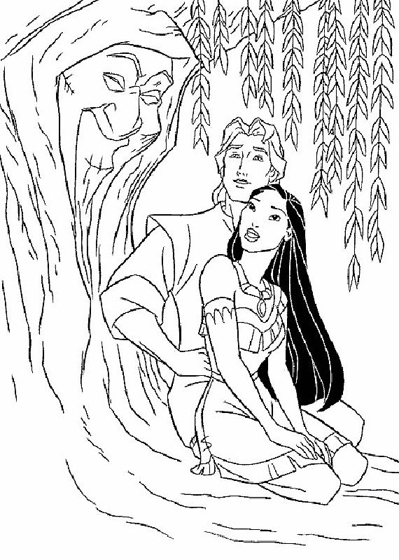 83 best Disney Pocahontas Coloring Pages Disney images on