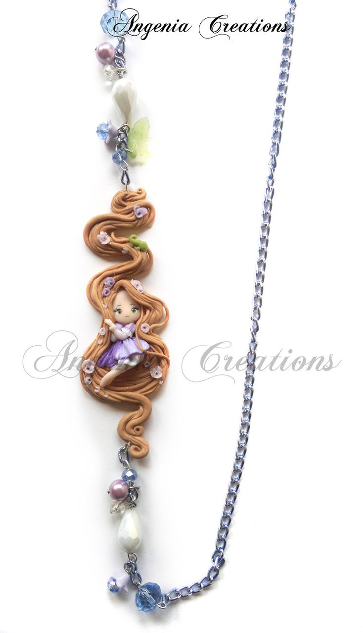 Rapunzel necklaces by ~AngeniaC on deviantART <3