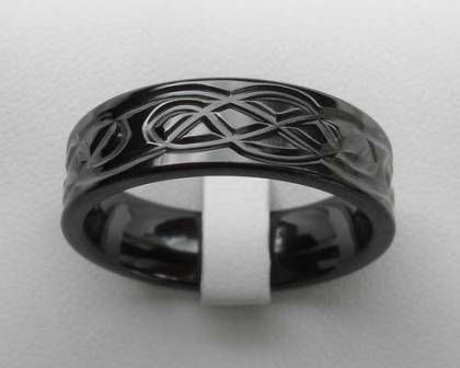 gothic wedding rings gothic engagement ring gothic wedding ring black gothic wedding ring - Goth Wedding Rings