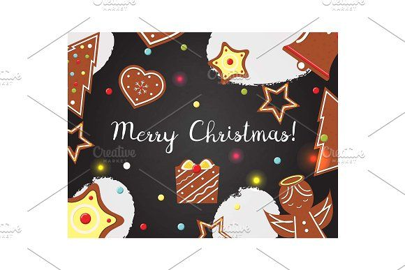 Christmas New Year backgrounds by Bunny's Little Shop on @creativemarket