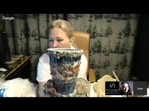 Татьяна Сабо Настольный вечный календарь Романтика моря - YouTube