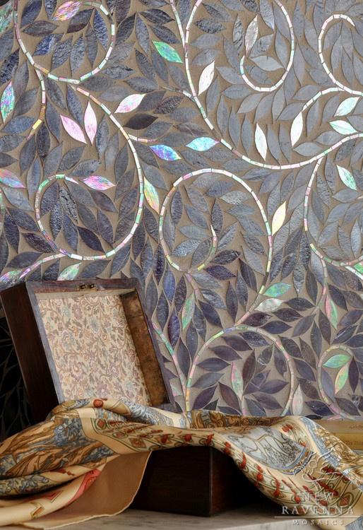 35 Best Mosaic Tile Leaf Patterns Images On Pinterest