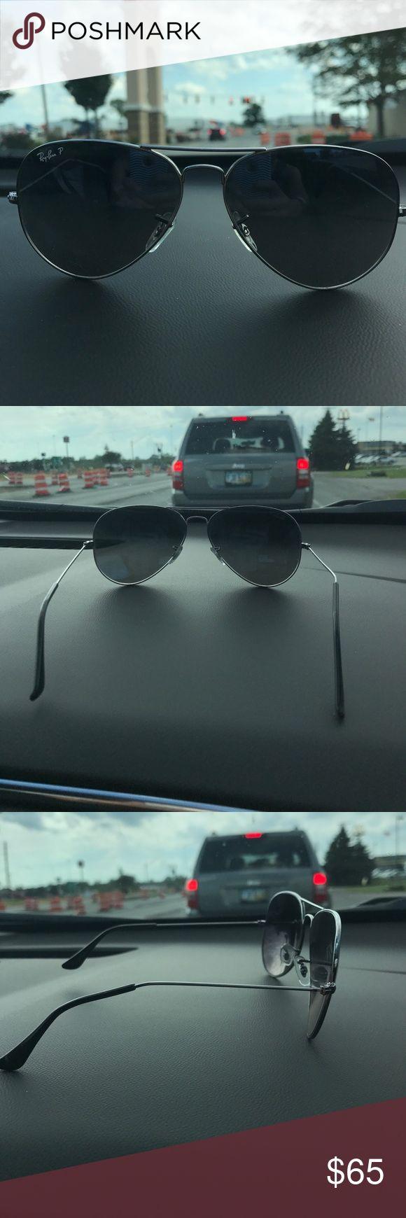 Ray-Ban Men's Ray-Bans aviator sunglasses. Polarized Ray-Ban Other