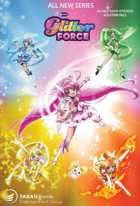 glitter force - Google Search