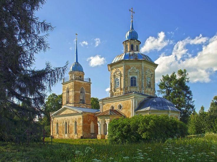 Церковь Успения Пресвятой Богородицы (Россия, Берново)