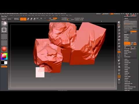 Zbrush Tutorial - An Introduction to Masking HD by 3dmotive - YouTube