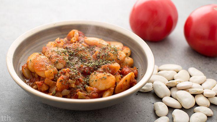 delicious vegan white bean  true taste hunters: Wegańska fasolka po bretońsku #vegan #bean #truetastehunters